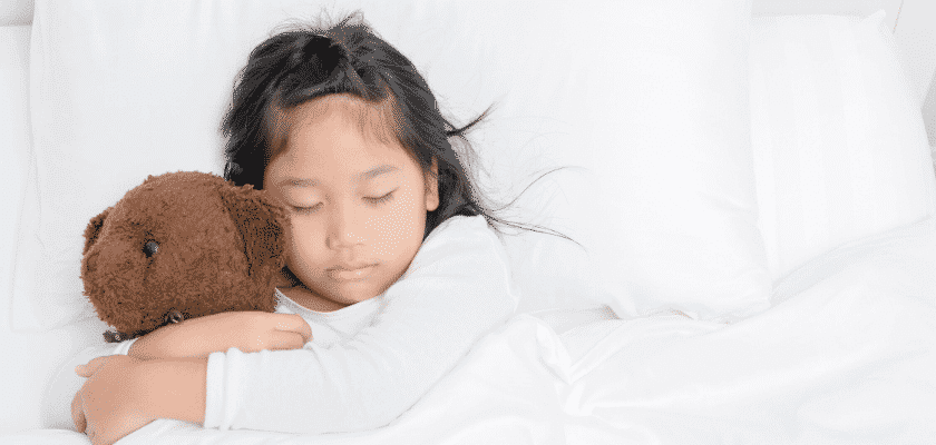 Sleep apnea affects children
